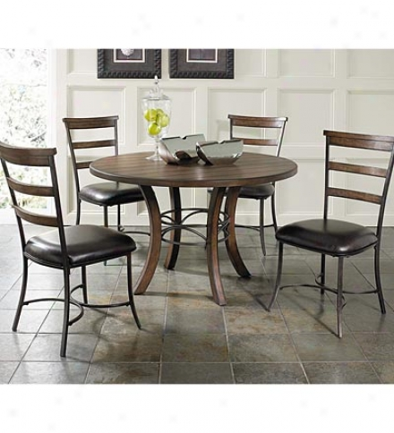 Cameron Circularly Table With Metal Ring