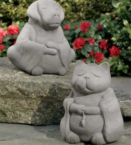 Cast Stone Buddha Turtle Garden Statue