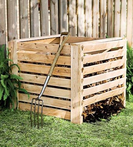 Cedar Composter