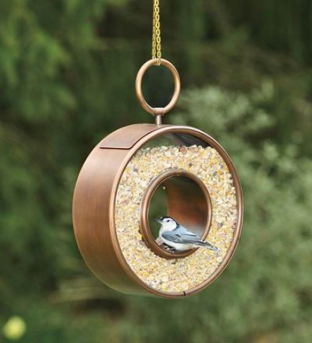 Circle Birdfeeder With 5 Lb. Seed Capacity