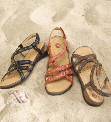 Clarks® Nubuck Un.splash Sandals For Women