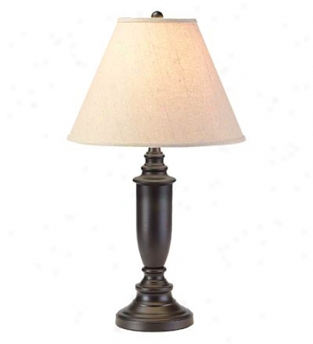 Classic BlackF innish Table Lamp With Various Shade Patterns