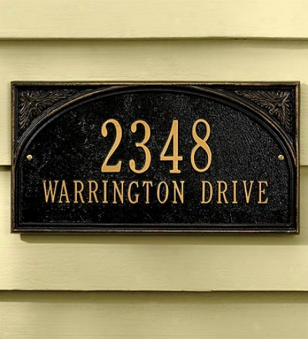 Classic Wall Plaque