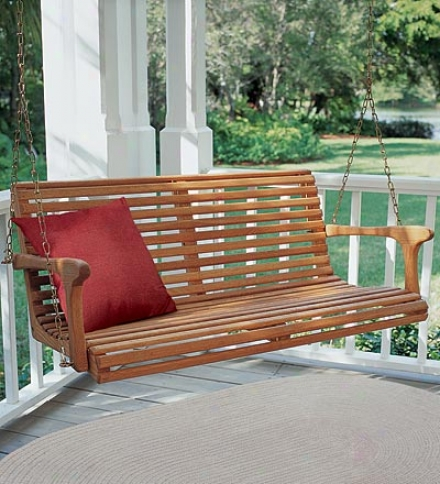 "Classic Weather-resistant Swing/bench Cushion 48"" X 19"" X 3"""