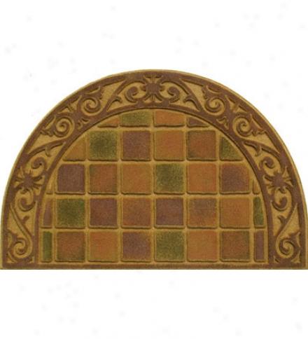 Cobblestone Half-round Mat