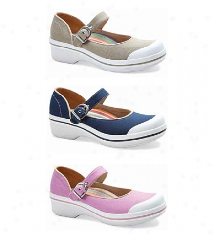 Dansko?? Valerie Canvas Mary Jane Shoes