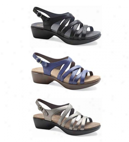 Dansko® Dani Leather Sandals