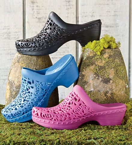 Dansko® Pippa Thermoplastic Contoured Clog With Cutout Design