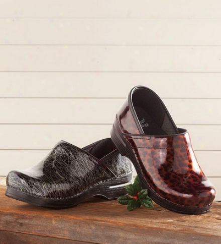 Dansko® Women's Patent Leather Clog