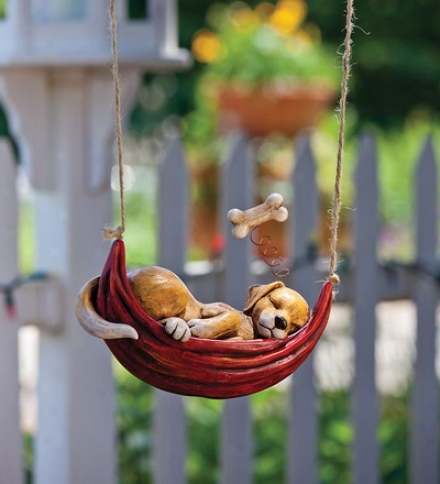 Daydreaming Animal Hanging Garden D??cor