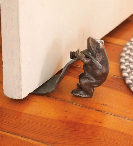 Decorative Cast Iron Animal Doorstops