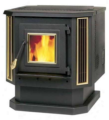 Deluxe Pellet-burning Stove, 2,200 Sq. Ft.