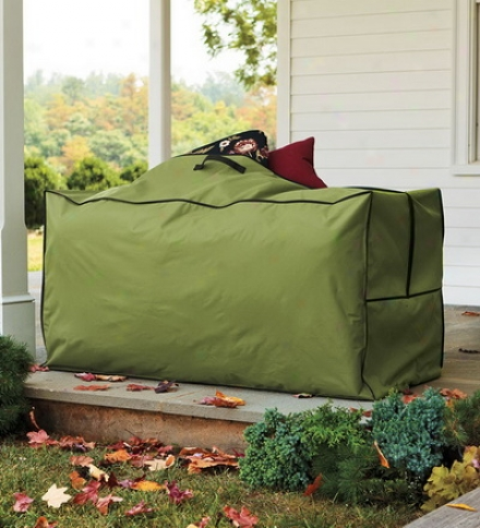 Durable, Flexible Polyester Outdoor Cushion Tote-and-store Keeper
