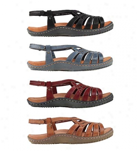 Earth® Leg-toning Imagine Sandals Witb Velcro Adjustable Back Strap For Women