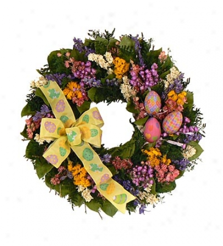 Easter Egg 16-inch Wreath