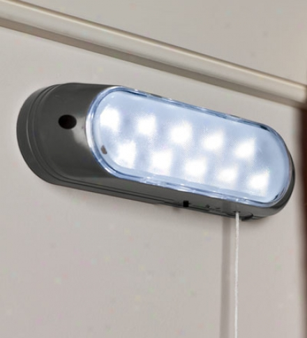 Easy-install Bright Led Solar-powered Shed Light