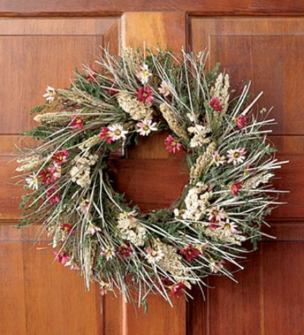 Ellen's Garden Wreath