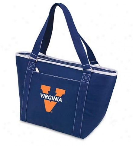 Emboidered Collegiate Cooler Tote