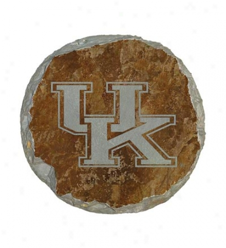 Etched Slate Collegiate Stepping Stones