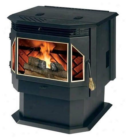 Evolutino Freestanding Pellet-burning Stove, 2,200 Sq. Feet