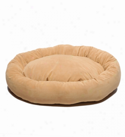 Extra Large Microfiber Bagel Bed