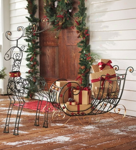 Fwnciful Metal Reindeerguy 2 Or More At $59.95 One and the other
