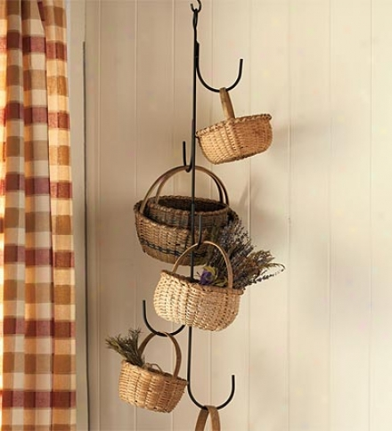 Five Hooi Hanging Basket Tree