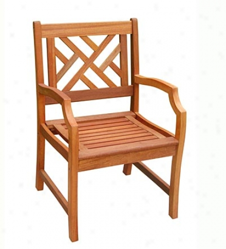 Forest Stewardship Council Certified Eucalyptus Chippendale Chair