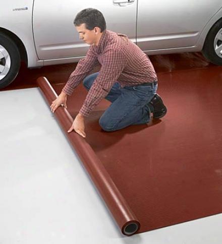 G-floor#174; Polyvinyl Garage Floor Protector, 7-1/2 X14'