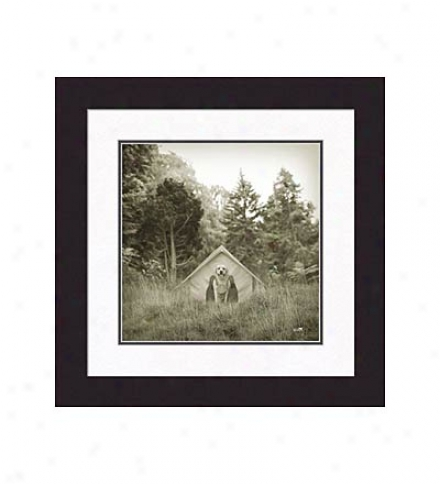 Gallery Qualkty 'blaze' Framed Print By Ron Schmidt