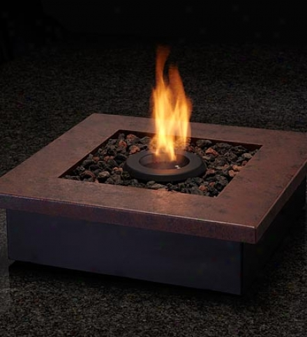 Gel-fueled Zen Personal Tabletop Fireplace