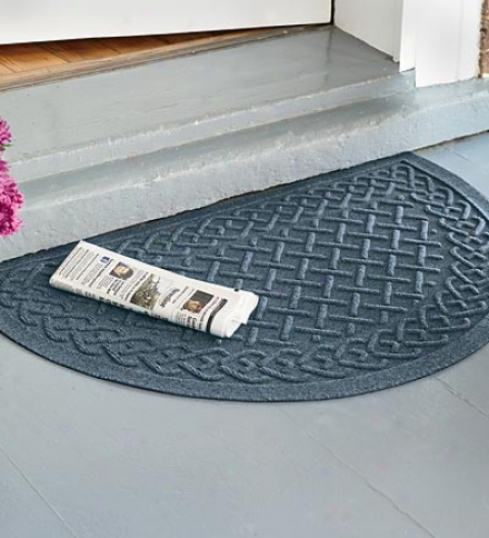 Half Round Cable Unite intimately Doormat