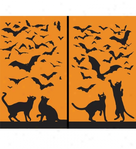 Halloween Window Slicks