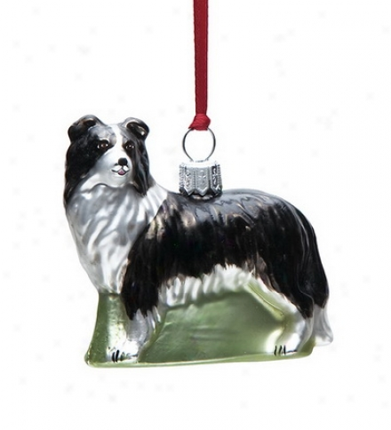 Hand-painted Assorted Glass Dog Ornaments