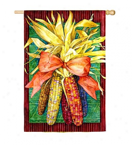 Indian Corn Nylon House Flag