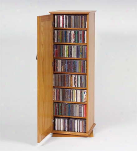 Large-capacity Spinning Media Stand