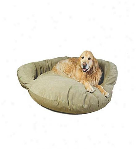 Large Micrrofiber Bolster Bed