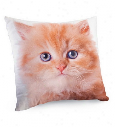 Lava Cat Photo Photo-printed Pillows