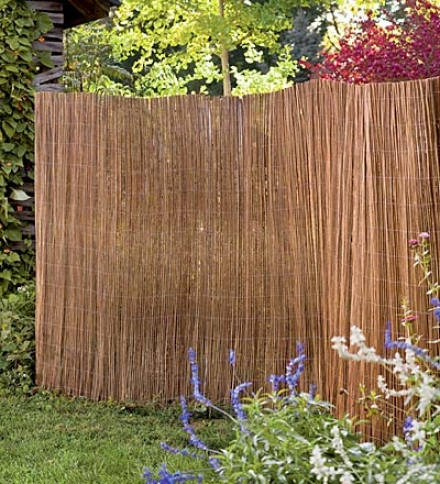 "Lightweight, Weather-resistant Tapl Spanish Willow Screen9'9""l X 5'h"