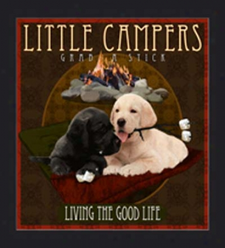 Little Campers Print By Tim Mcfadden