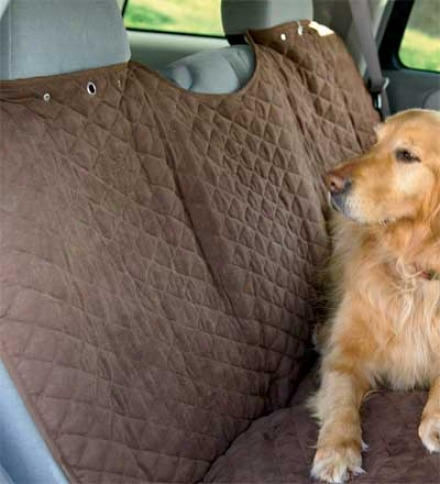 Machine-washablle Polyester Car Bucket Seat Cover For Pets
