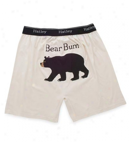 "Men'q ""bear Bum"" Cotton Jersey Boxers"