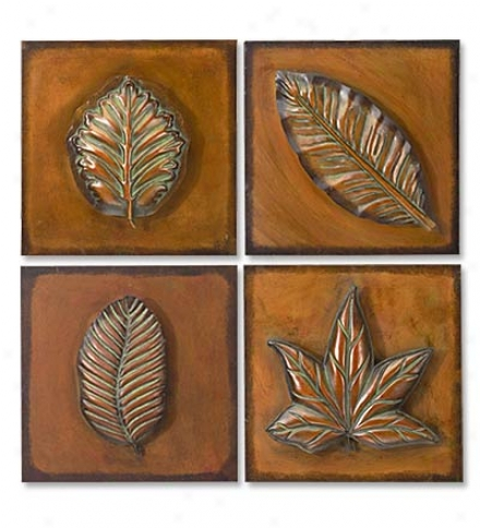 Metal Leaf Imprints