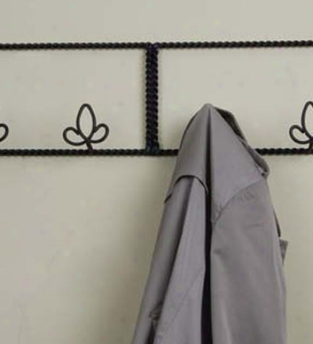Metal Scrollwork Wall Coat Hanger In the opinion of Six Hangers