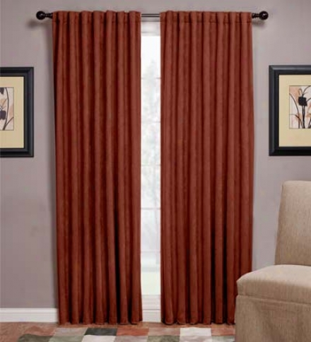 "Microsuede Blackout 56"" X 63"" Curtain Panel"