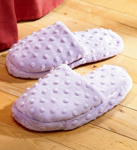 Microwaveable Aromktherapy Lavender Slippers
