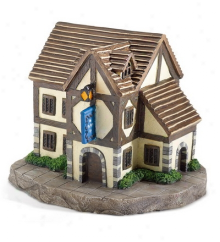 Miniature Polyresin Fairy Hamlet Tavern Statuary