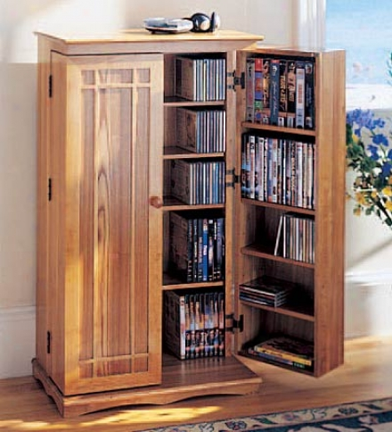 Mission-style Wood Storage Cabinet In the opinion of Hand-rubbed Oil Finish
