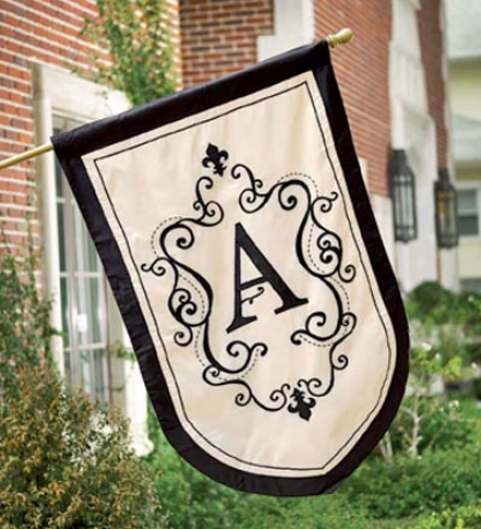 Monogram Estate Flag
