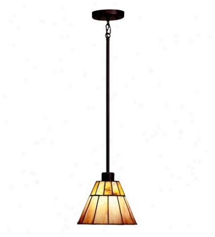 Morton Arts & Crafts Style Mini Pendant Light